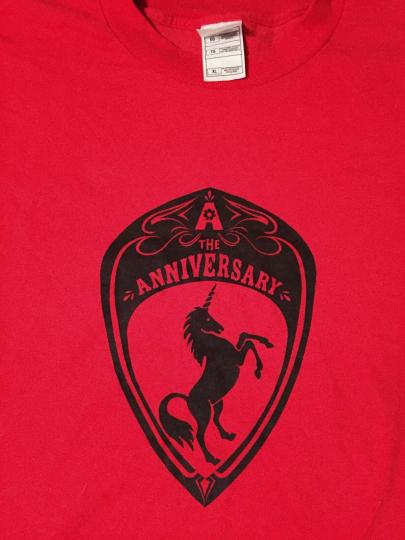 The Anniversary (Get Up Kids; Berwanger) xl t-shirt - Ferrari Logo