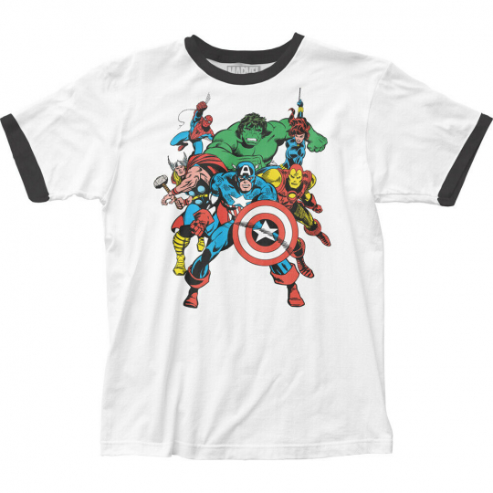 The Avengers Fitted Jersey T-Shirt