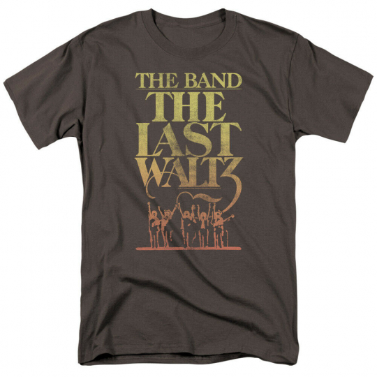 The Band The Last Waltz Short Sleeve T-Shirt Licensed Graphic SM-5X