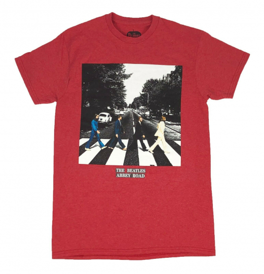 The Beatles Abbey Road Icon Rock Music Band Vintage Retro Mens T Shirt S-XL