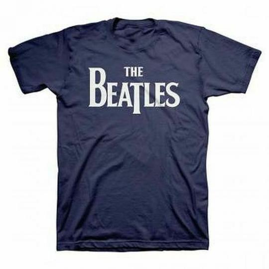 The Beatles Vintage Logo T-Shirt SM, MD, LG, XL, XXL New Lennon