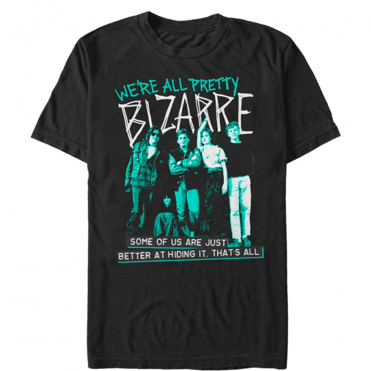 The Breakfast Club We're All Bizarre Mens Graphic T Shirt