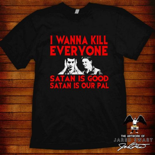 The Burbs T-shirt Satanic Panic! ( great for gifting w/ blu ray or dvd )