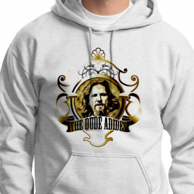 The Dude Abides Classic movie Tee Jeff Bridges Big Lebowski Hoodie Sweatshirt