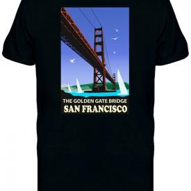 The Golden Gate Bridge Icon Tee Men's -Image by Shutterstock