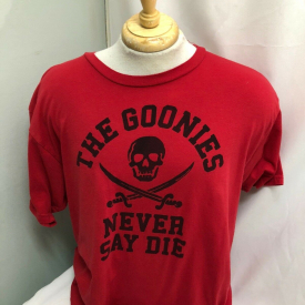 The Goonies Never Say Die Red T-Shirt Size XL Ripple Junction Loot Crate