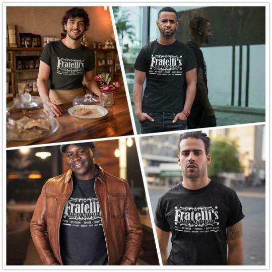 The Goonies T Shirt Fratelli S Family Restaurant Astoria Oregon T-Shirt Mens