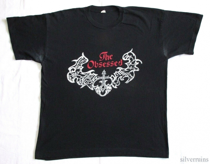 The Obsessed Vintage T Shirt 1990's Lunar Womb Tour Saint Vitus Doom Metal XL