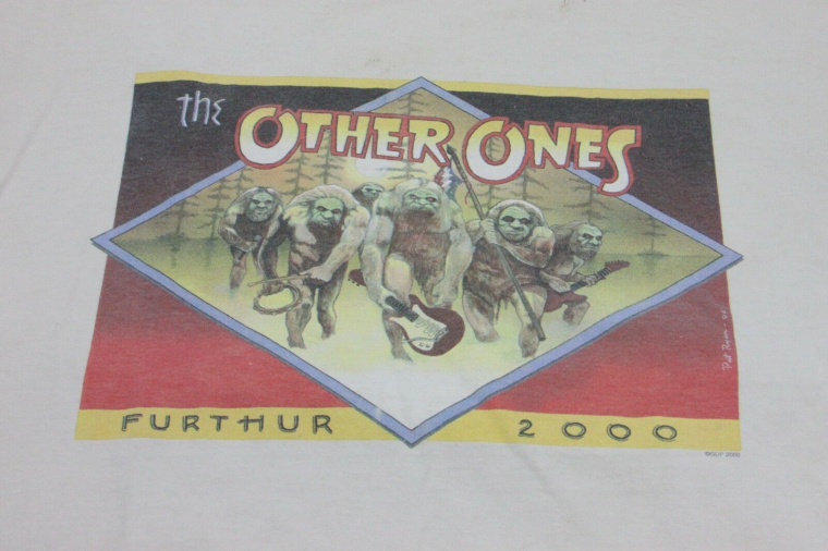 The Other Ones Furthur 2000 Tour Band T Shirt Grateful Dead Jerry Garcia Weir