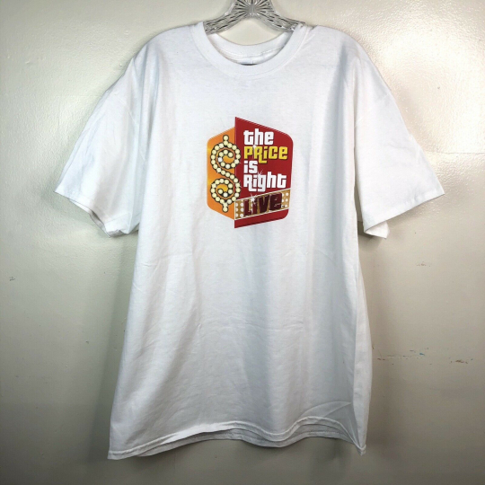 The Price is Right Men's White T-shirt XL