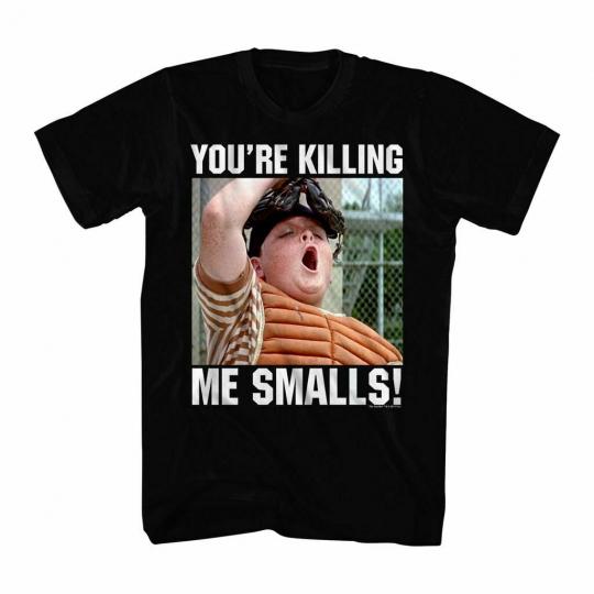 The Sandlot Killing Catcher Black Adult T-Shirt