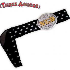 The Three Amigos Belt Ned Nederlander Costume Belt One Size