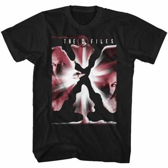 The X-Files TV Show Science Fiction T-Shirt Black Cotton Sizes SM - 5XL REDX