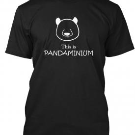 This Is Pandaminum Panda, Puns, Jokes Hanes Tagless Tee T-Shirt