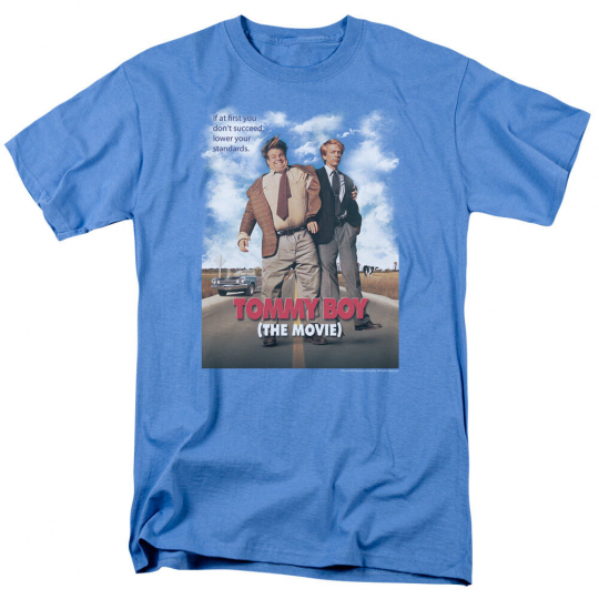 Tommy Boy MOVIE POSTER Farley & Spade Licensed Adult T-Shirt All Sizes