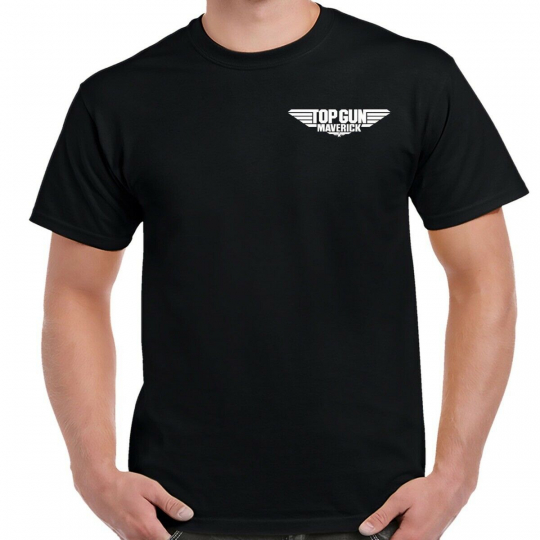 Top Gun 2 Maverick White Chest Logo Shirt