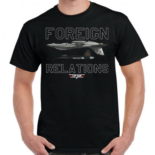 Top Gun Foreign Relations T-Shirt