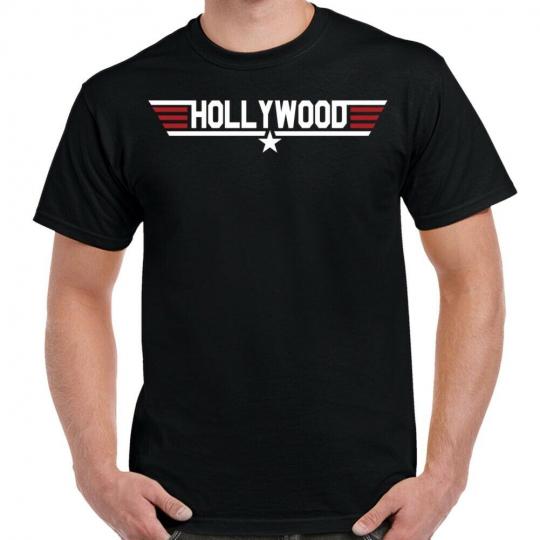 Top Gun Hollywood Logo T-Shirt