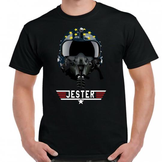 Top Gun Jester Helmet T-Shirt