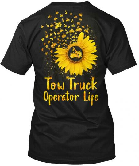 Tow Truck Operator Life Hanes Tagless Tee T-Shirt