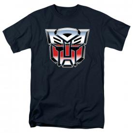 Transformers Autobot Airbrush Logo Short Sleeve T-Shirt Licensed Graphic SM-5X