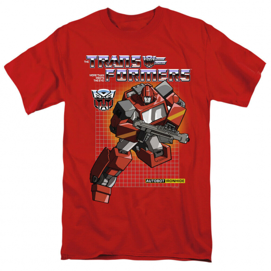 Transformers Ironhide Short Sleeve T-Shirt Licensed Graphic SM-5X