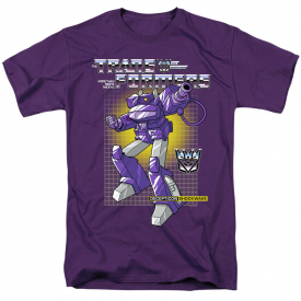 Transformers Shockwave Short Sleeve T-Shirt Licensed Graphic SM-5X
