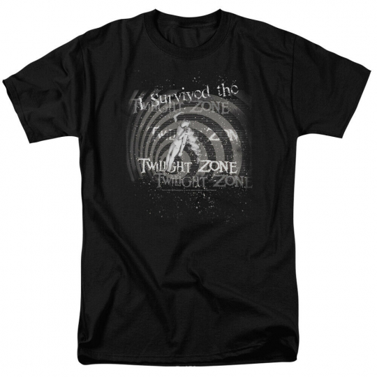 Twilight Zone I Survived Short Sleeve T-Shirt Licensed Graphic SM-7X