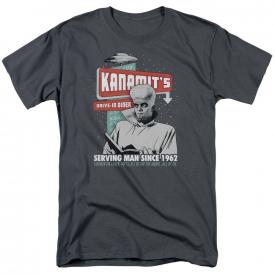 Twilight Zone Kanamits Diner Short Sleeve T-Shirt Licensed Graphic SM-5X