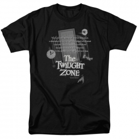 Twilight Zone Monologue Short Sleeve T-Shirt Licensed Graphic SM-7X