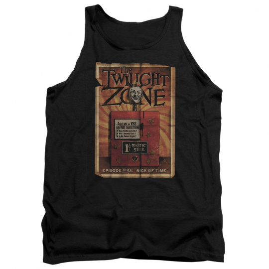 Twilight Zone TV Show Episode 43 Nick of Time Adult Tank Top All Sizes