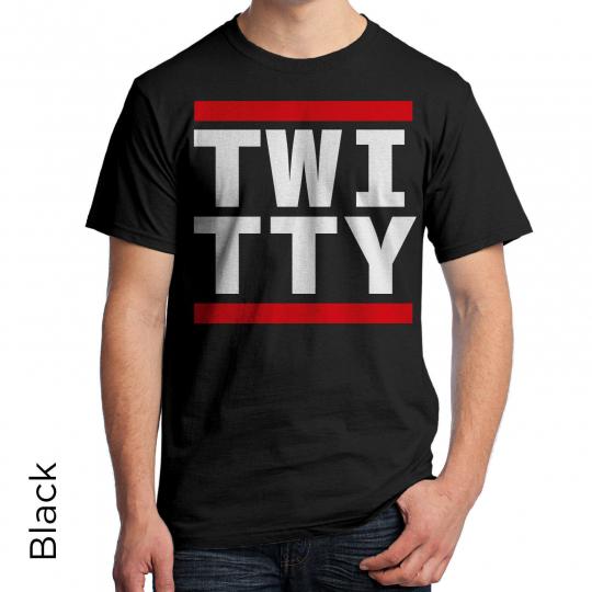 Twitty Graphic T-Shirt 80's Retro Shirt DJ Music Urban Hip Hop
