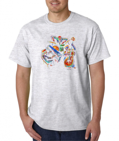 USA Made Bayside T-shirt Music Skeleton Band Rebel Attitude