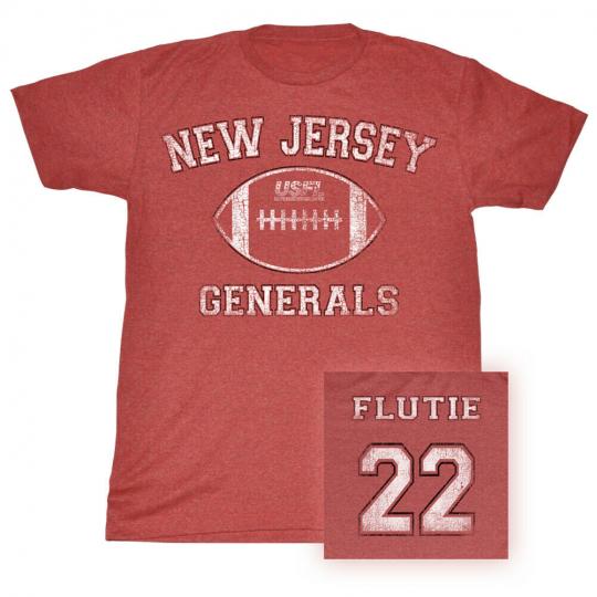 Usfl Flutie Bnw Adult T-Shirt Tee