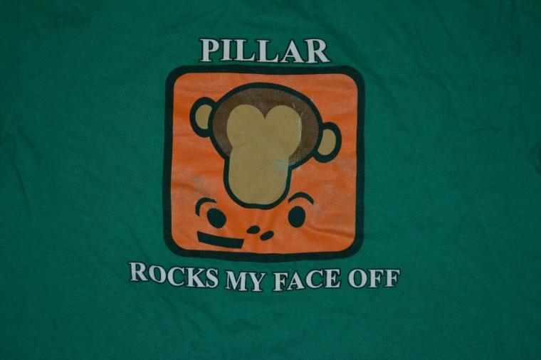 VTG Pillar Rock My Face Off Monkey T Shirt Small Christian Nice Tulsa OK Band
