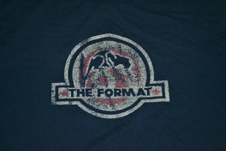 VTG The Format Band Indie Rock Pop T Shirt Large Peoria AZ