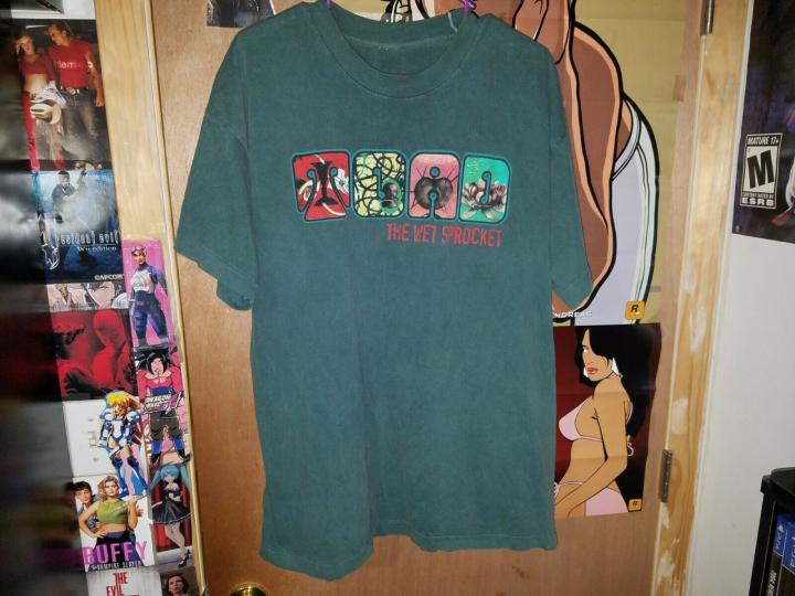 VTG Toad the Wet Sprocket Single Stitch Concert Tour Rock Band shirt Sz XL 90s