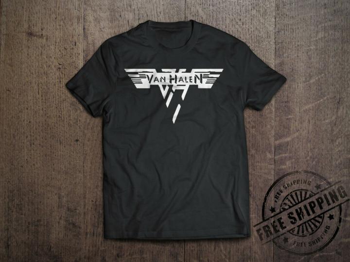 Van Halen T-Shirt - Classic Rock Band S-6XL Free Shipping 2