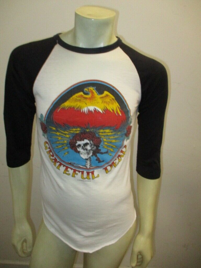 Vintage 1980 GRATEFUL DEAD New Year's Eve Concert Shirt Jersey Size MEDIUM