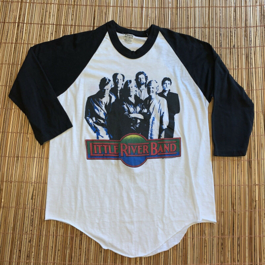 Vintage 1984 Little River Band World Tour Medium/Large T-Shirt 50/50 Made In USA