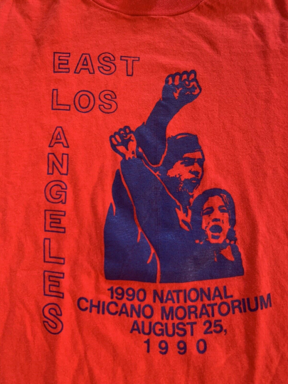 Vintage 1990 Chicano Equal Rights T-Shirt Tees Very Rare Single Stitch