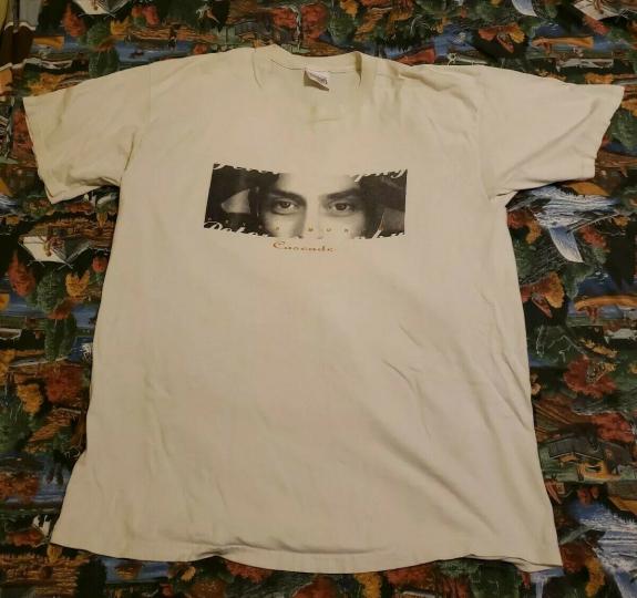 Vintage 1995 Peter Murphy Cascade Tour Shirt XL Bauhaus Gothic Post Punk Band