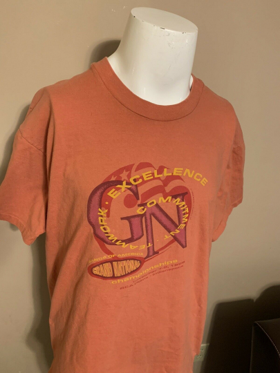 Vintage 90's Bands Of America 1996 Music Championships Mens T Shirt Extra Large