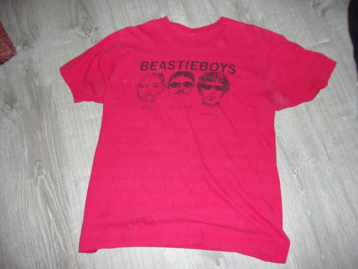 Vintage Beastie  Boys  shirt /  Large red