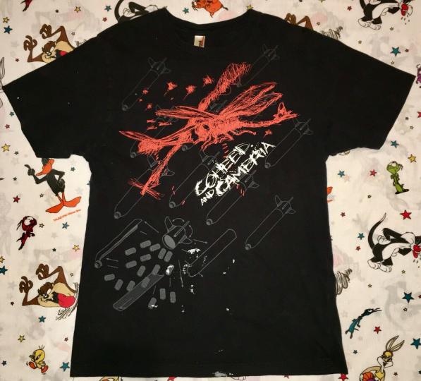 Vintage Coheed And Cambria T Shirt VGT Band T Shirt VGT Rock T Shirt Size Medium