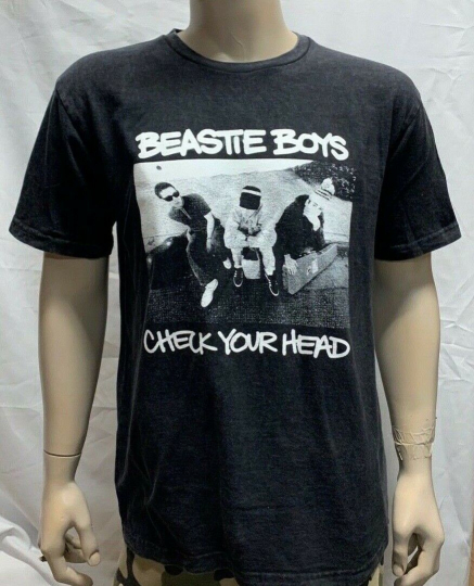 Vintage Fade Beastie Boys T-Shirt / Check Your Head Rap Mike D Unisex Men