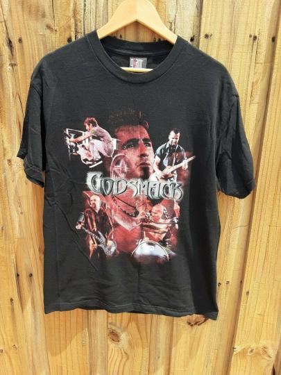 Vintage Godsmack Shirt Size Large Smack This Giant 2000
