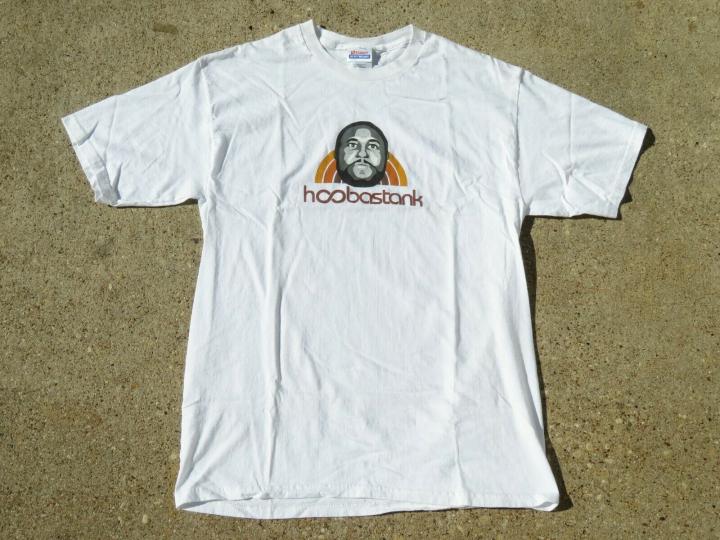 Vintage Hoobastank Rock Shirt Size Medium Men Pre Owned Rare Band Album