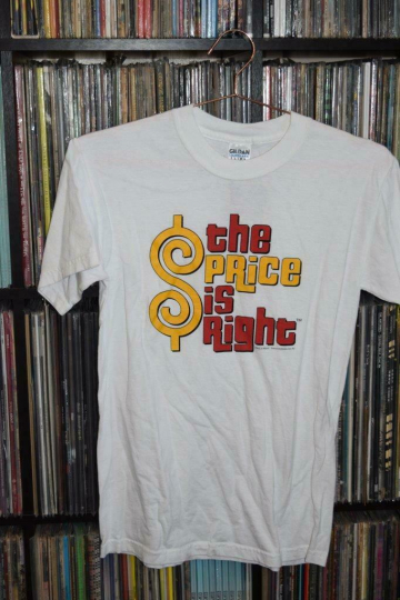 Vintage Rare The Price is Right Game Show T Shirt Official