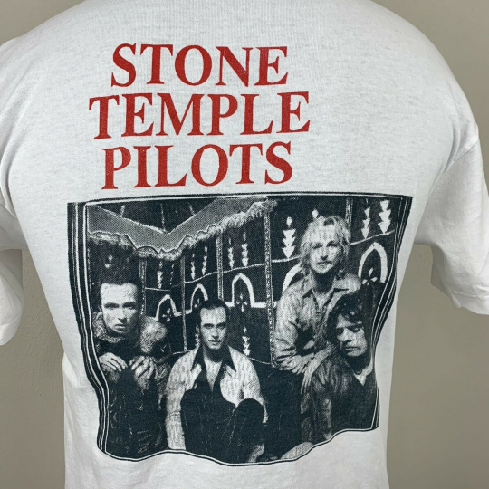 Vintage Stone Temple Pirates T Shirt Double Side Band Tee Tour Album 90s STP